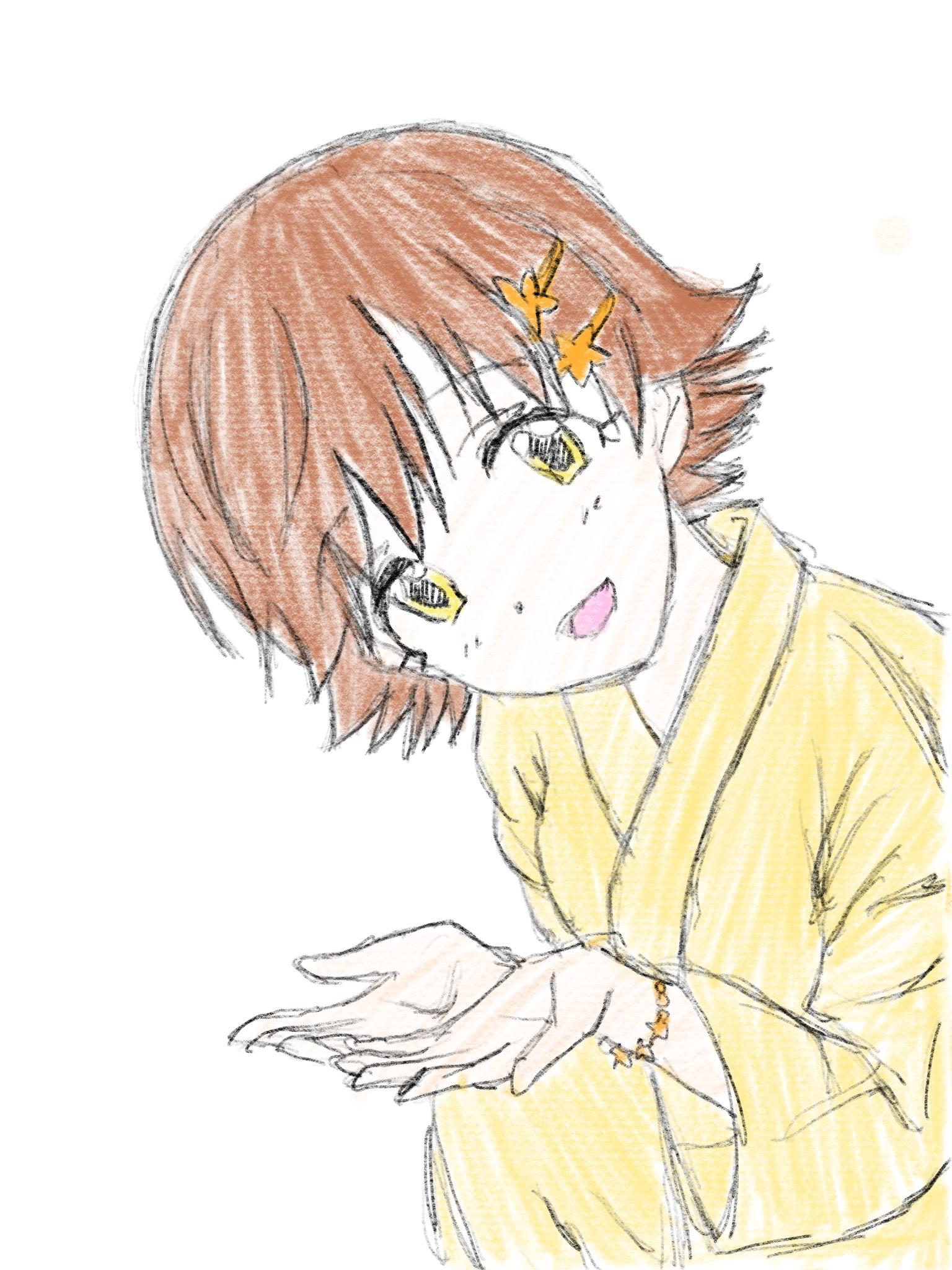[星祭の織姫] 本田未央 2