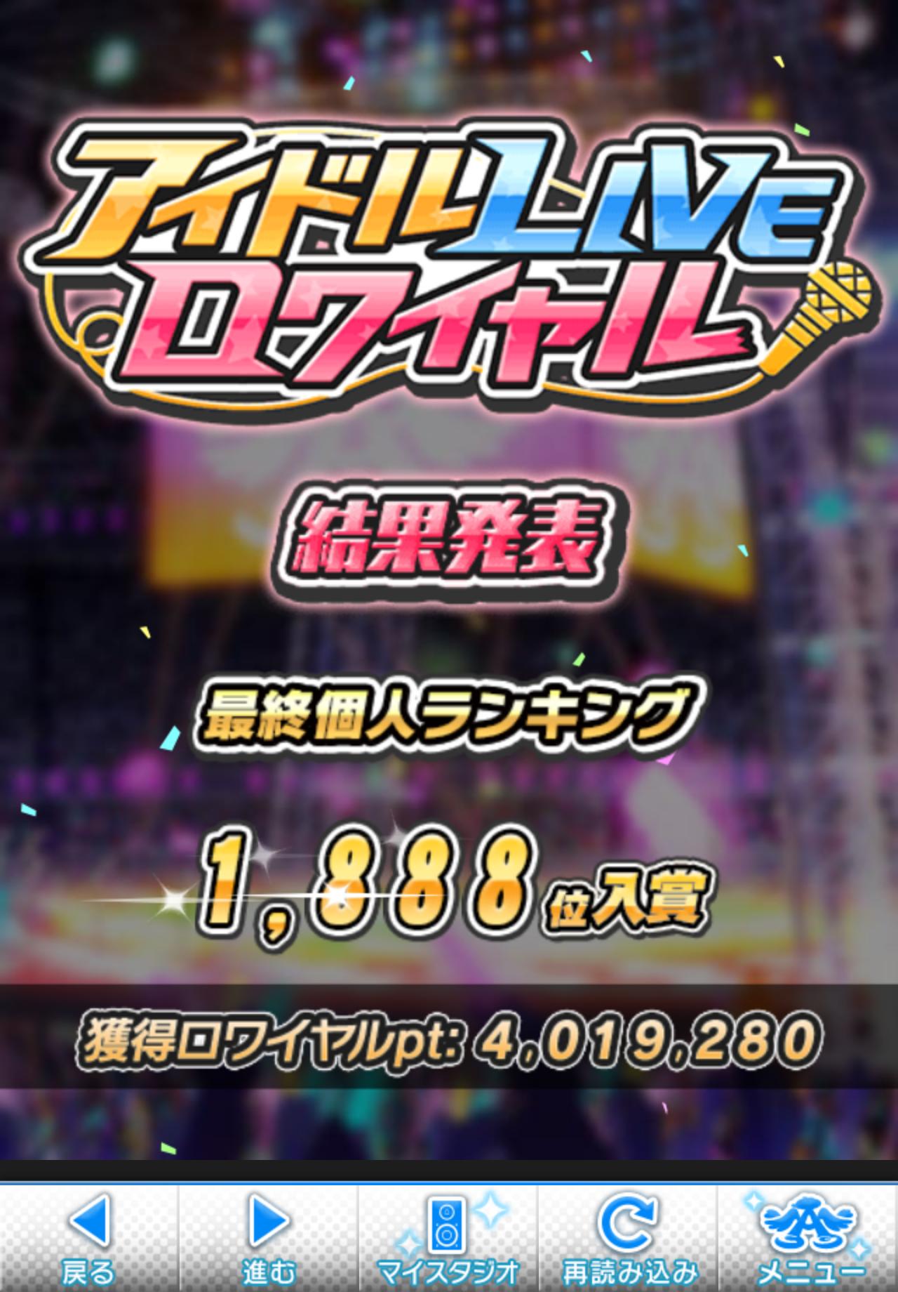 第24回アイドルLIVEロワイヤル結果発表1